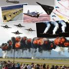 Scenes from 30 years of Warbirds over Wanaka. Photos: ODT