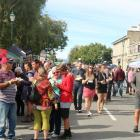 More than 3000 wine and food lovers  enjoy the  Clyde Wine and Food Harvest Festival yesterday....