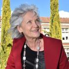 Barbara Else, author of Go Girl, outside Otago Girls High School. Former pupils featured in the...