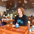 Faigan's Cafe co-owner Juanita Garden says the State Highway 8 signs wanted by the cafe would...