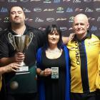 Dunedin pool players Guy Whati, Danny Ryan, Stef Crowl, Neil Whalley and Peter Weeda will...