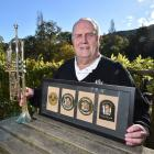 Recently retired court security and prison officer Geoff Oswald considers 32 years with the...