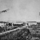 Aviation in Italy: A recent photo, showing three Caproni machines in flight. - Otago Witness, 24...