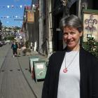 Tourism Waitaki general manager Margaret Munro in Harbour St. Mrs Munro plans to take a close...
