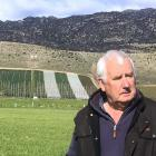 John Perriam outlines what irrigation has meant for Bendigo Station, near Tarras. Photos: Sally Rae