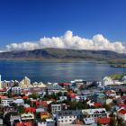 Coastal Reykjavik, home to about 120,000 people, has some 410 square metres of greenery per...