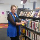 South Dunedin Library and Service Centre team leader Dianne Mears says the library is well used...
