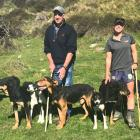 Roger and Steph Tweed are enjoying considerable success on the dog trial circuit. Photo: Supplied