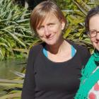 A poetry tour around the South Island by Wanaka writers Liz Breslin (left), Laura Williamson ...