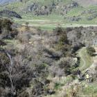 Part of the Te Araroa Trail between Wanaka and Glendhu Bay. PHOTO: ODT FILES