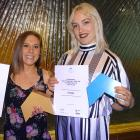 Yonder venue manager Chantelle Thompson and breakfast manager Kat Forde with two of the Church St...