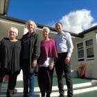 The children's village in Roxburgh is closing. Kaumatua Frances Diver (L-R), Chief Executive Dr...