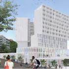 An artist's impression of the proposed Moray Pl hotel. Image: Supplied