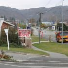 Fire and Emergency New Zealand attended a chimney fire at an Alexandra motel today. Photo: Tom...