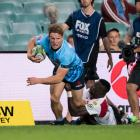 Michael Hooper in action for the Waratahs. Photo: Getty