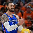 Oklahoma City Thunder star Steven Adams looks set to visit Dunedin in August. Photo: Getty Images