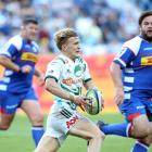 Damian McKenzie runs the ball up for the Chiefs against the Stormers. Photo: Getty