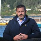 Otago Regional Council harbourmaster Steve Rushbrook stands by a wharf at the Otago Yacht Club....