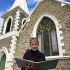 Church elder Hilary Garden, of Millers Flat, said it is a wonderful occasion. Photo: Pam Jones