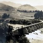 A lot can change in 80 years. This photo of the old Kawarau River Bridge at Frankton was taken by...