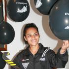 Rookie Black Stick Lulu Tuilotolava made her first international appearance during the Tri...