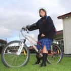 Emma Warden (12) ''just felt like riding'' her bike to school on Friday, because she was late,...