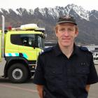 Gavin Mason at work in Queenstown yesterday after deciding to take on the Coast to Coast after...