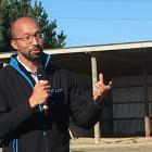 Livestock Improvement reproduction solutions adviser Jair Mandriaza. Photo: David Hill