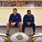 Otago players Ricky Johnson (left) and Vilimoni Koroi will join the New Zealand U-20 team in...