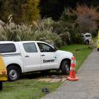 A man was seriously injured while working in a ditch in St Leonards, Dunedin, this afternoon....