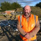Clutha District Council solid waste officer Steve Clarke says a council long-term plan proposal...
