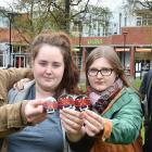 University of Otago students (from left) William Dreyer, Sinead Gill, Katie Plant, and Finn...