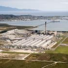 Tiwai Point aluminium smelter.