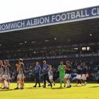 West Bromwich Albion will play in the Championship division after being relegated this morning....