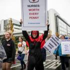 The vote is a response to a third pay offer from DHBs. Photo: NZ Herald
