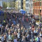 The Vogel Street Party has been postponed for this year. Photo: ODT