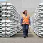 Price hike ... Outgoing NZAS chief executive Gretta Stephens, pictured on site, was pleased with...