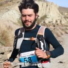 Jonah Smith, of Dunedin, fights his way through the final stage of the Mt Difficulty Ascent 44km...