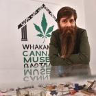 Dunedin cannabis law reform activist Abe Gray. PHOTO: PETER MCINTOSH