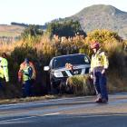 A 42-year-old Waitati woman suffered moderate injuries after her ute crashed into a ditch on...