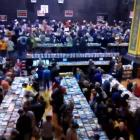 Watch the mayhem on our fantastic time-lapse video, as thousands of bookworms jostle about for great finds at this year's annual Star Regent 24 hour Book Sale. Screengrab: Craig Baxter