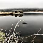 The hoar frost may have gone, but this photo is too good not to use. Here's Butchers Dam looking...