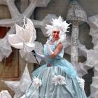 Midwinter Carnival performance co-ordinator Rochelle Brophy is dressed in a carnival costume and...