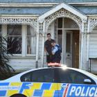 Police speak to Josiah Nelson (21), who suspected his flat was being burgled for a third time in...