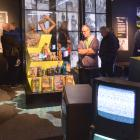 A good crowd of music fans braved the winter weather for a glance at an exhibition celebrating...