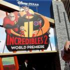 Incredibles 2 premiere. Photo: Reuters