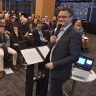 About 150 Dunedin residents attend a meeting about the Zero Carbon Bill with Climate Change...