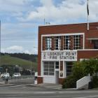 Lookout Point Fire Station. Photo: Gregor Richardson
