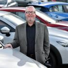 Newly retired car dealer Moray MacKenzie reflects on 51 years in the motor industry. Photo: Peter...