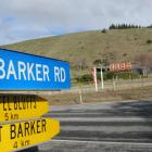 The owner of this land opposite Wanaka Airport is taking his case for rezoning to the Environment...